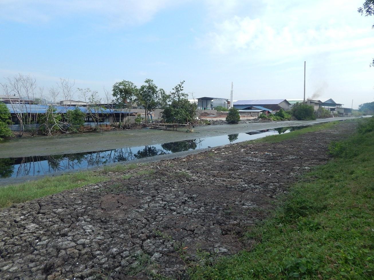 Adakah industri di kawasan ini tidak mencemarkan air dalam parit berkenaan? | SAM
