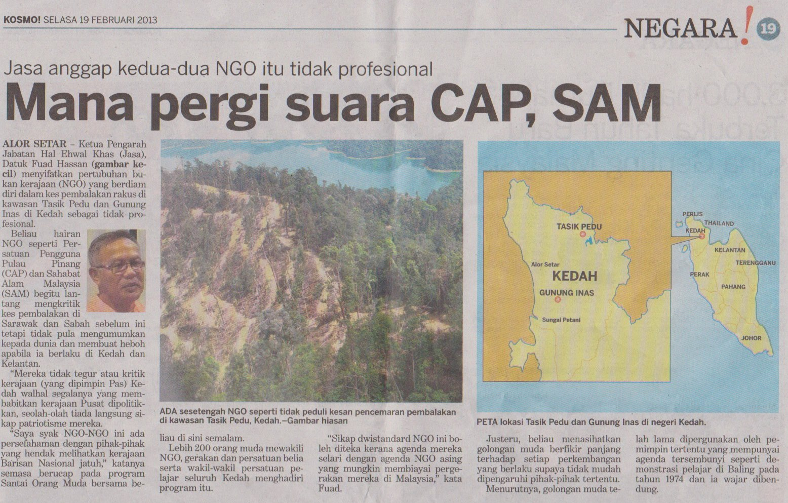 Article in KOSMO