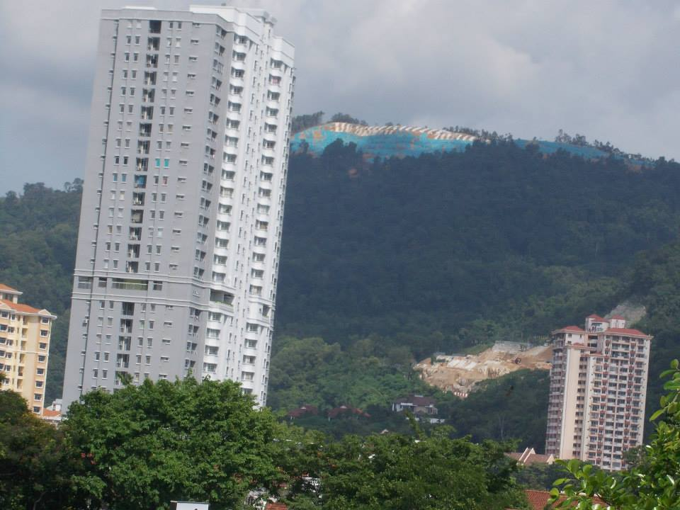 Botak Hill, Relau, Penang