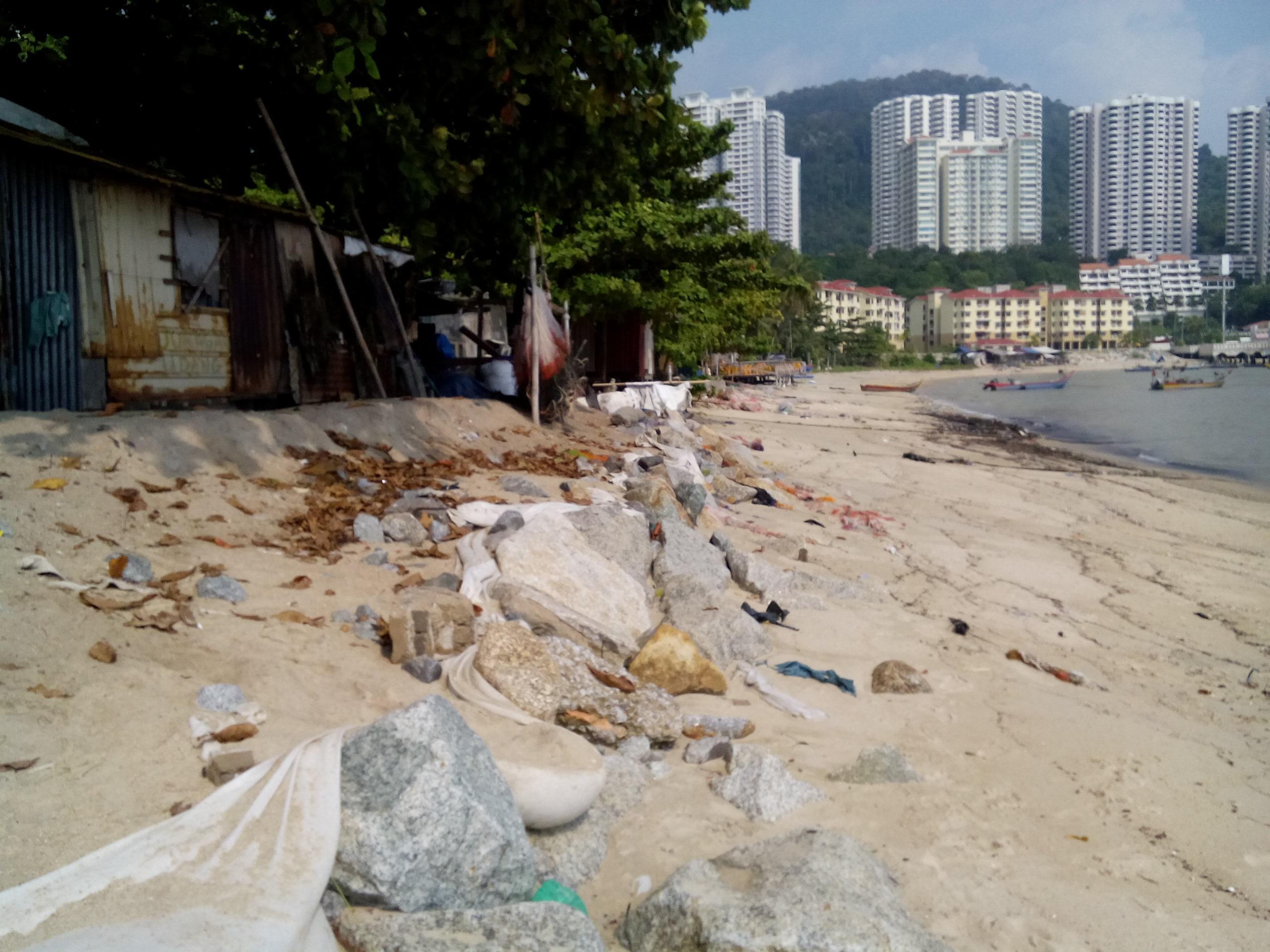 Coastal erosion in Tanjung Bungah | SAM