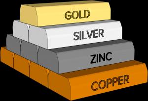 ingots, mining, copper